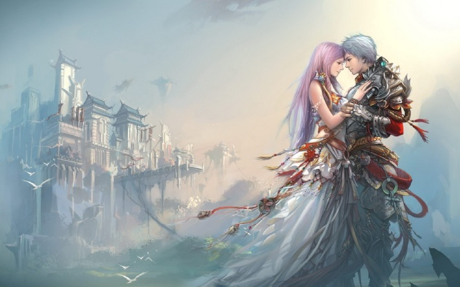 30-love-photos-anime-boy-girl-love-castle-hd