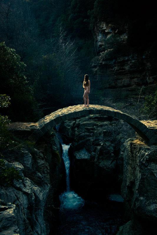 Girl on bridge - Darbi Dunbar